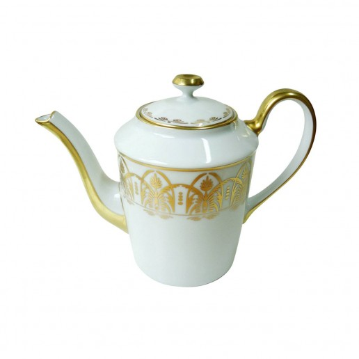 Royal Limoges Oasis White Teapot