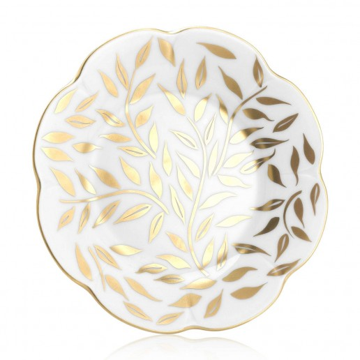 Royal Limoges Olivier Gold Bread & Butter Plate