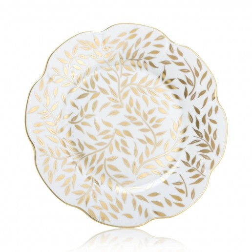 Royal Limoges Olivier Gold Dinner Plate
