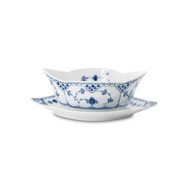 Royal Copenhagen Blue Fluted Mega Sauceboat