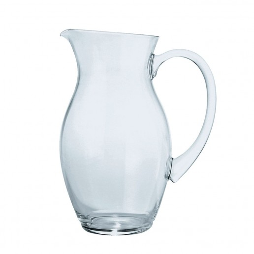 Christofle Albi Crystal Water Pitcher