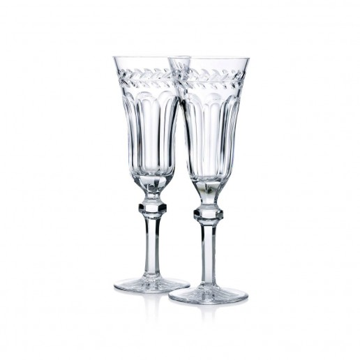 Michael C. Fina  Spencer Champagne Flute Set of 2