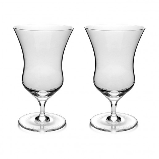 Michael C. Fina  Flair Wine Glass, Set of 2