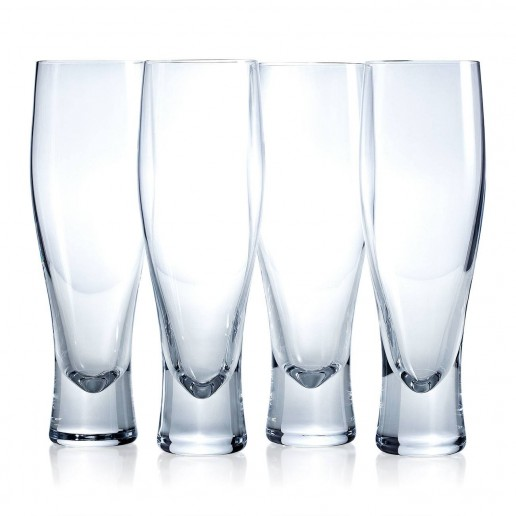 LSA Bar Lager Glass Clear 400ml (4 Pack)