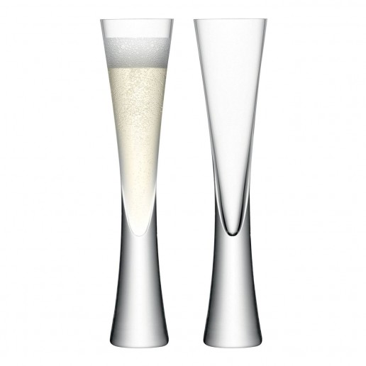 LSA International Moya Champagne Flute, Set Of 2