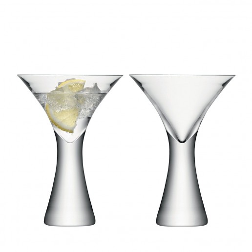 LSA International Moya Martini Glass, Set of 2
