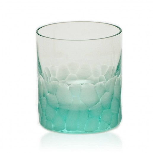 Moser Pebbles Double Old Fashioned, Beryl