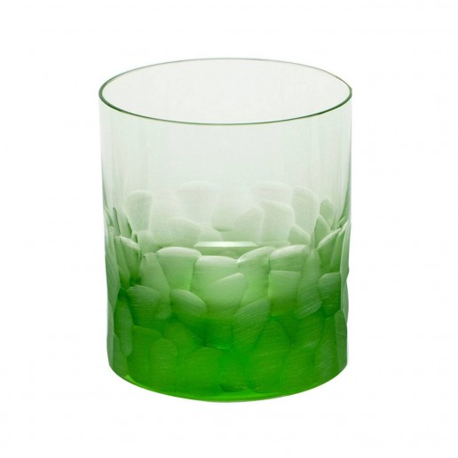 Moser Pebbles Double Old Fashioned, Ocean Green
