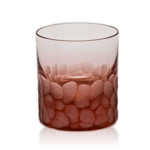 Moser Pebbles Double Old Fashioned, Rosalin