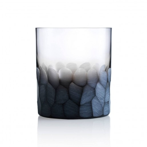 Moser Pebbles Double Old Fashioned, Smoke