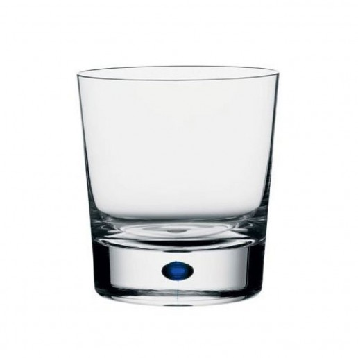 Orrefors Intermezzo Blue Double Old Fashioned