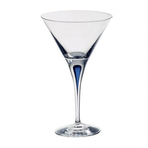 Orrefors Intermezzo Blue Martini