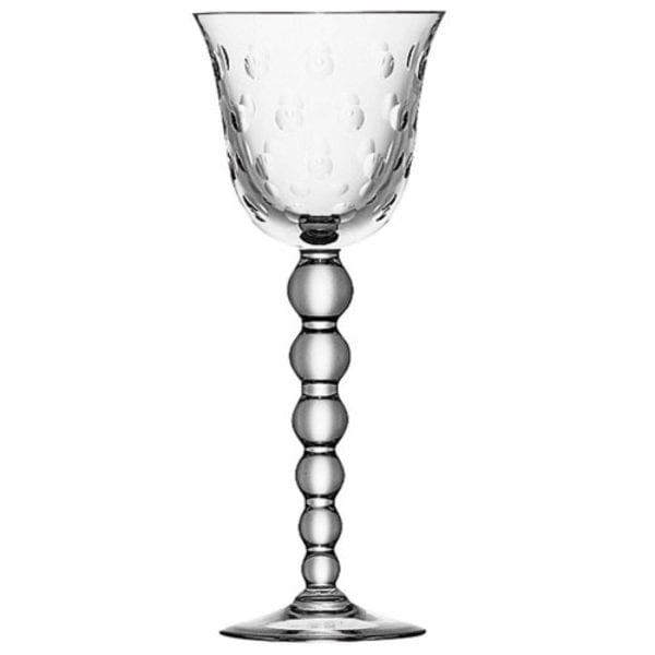 Saint-Louis Crystal Bubbles Wine Glass, Clear