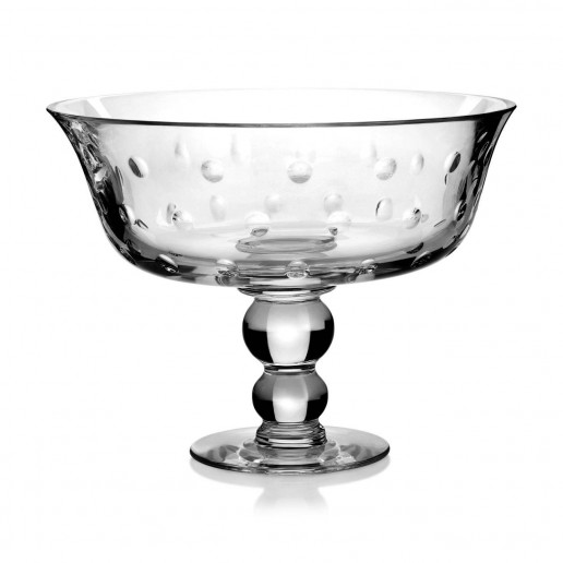 Saint-Louis Crystal Bubbles Footed Bowl