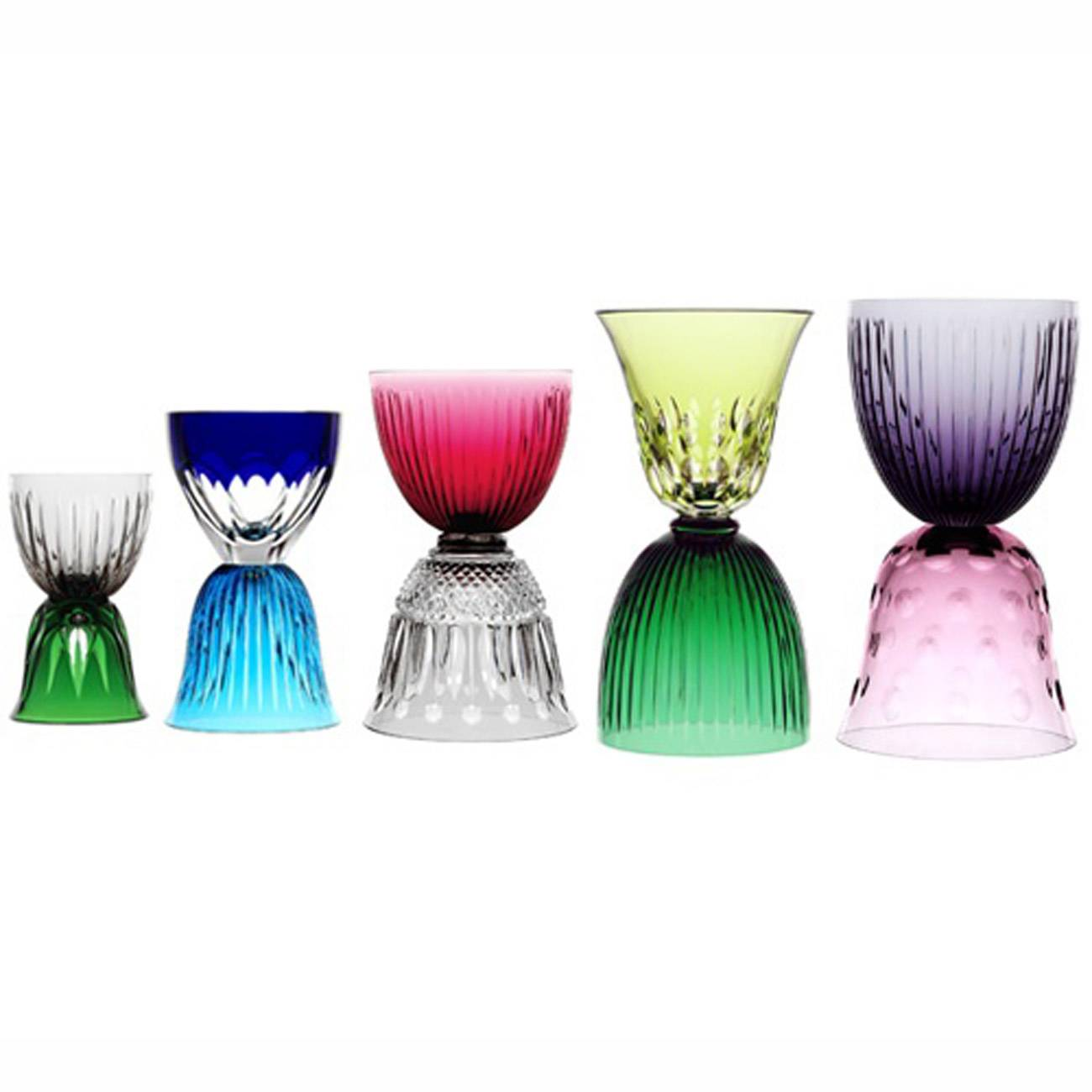 Saint-Louis Crystal Les Endiables Collection