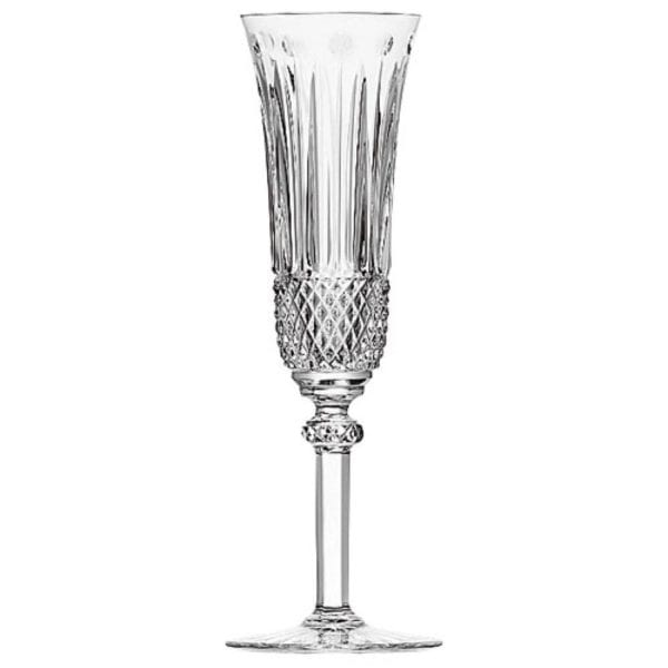 Saint-Louis Crystal Tommy Flute Champagne, Clear