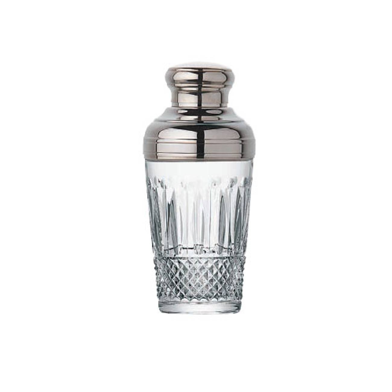 Saint-Louis Crystal Tommy Shaker With Silver Top