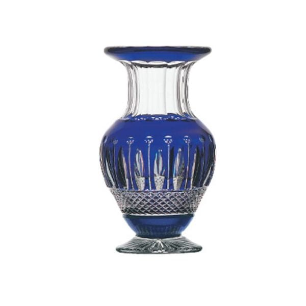 Saint-Louis Crystal Tommy Cobalt Vase