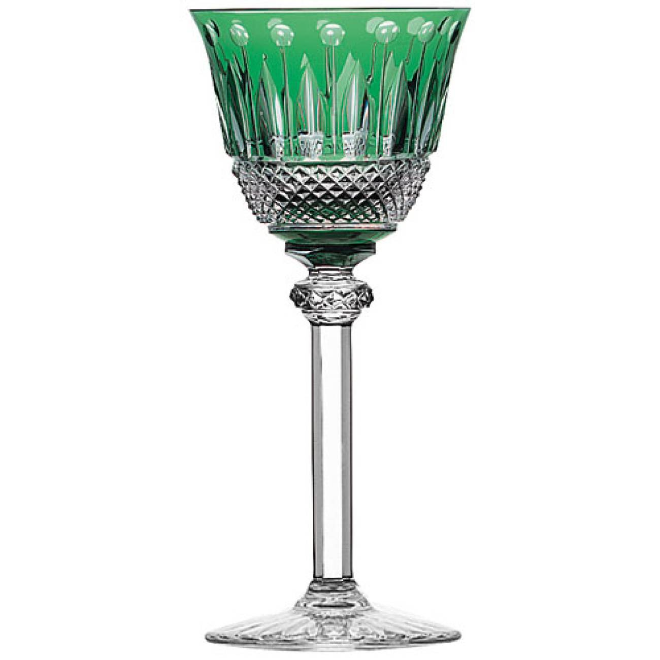 Saint-Louis Crystal Tommy Hock, Green