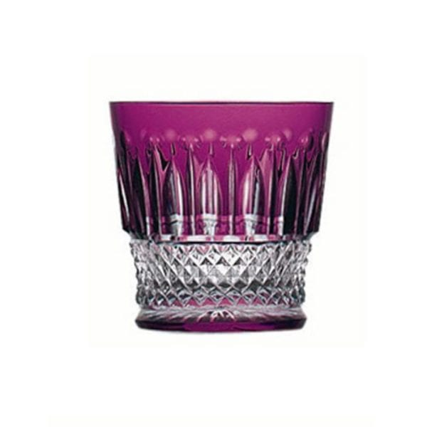 Saint-Louis Crystal Tommy Old Fashioned, Amethyst