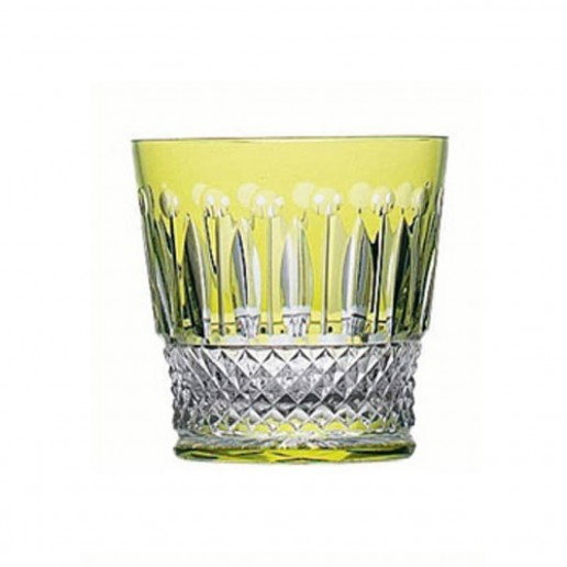Saint-Louis Crystal Tommy Old Fashioned, Chartreuse
