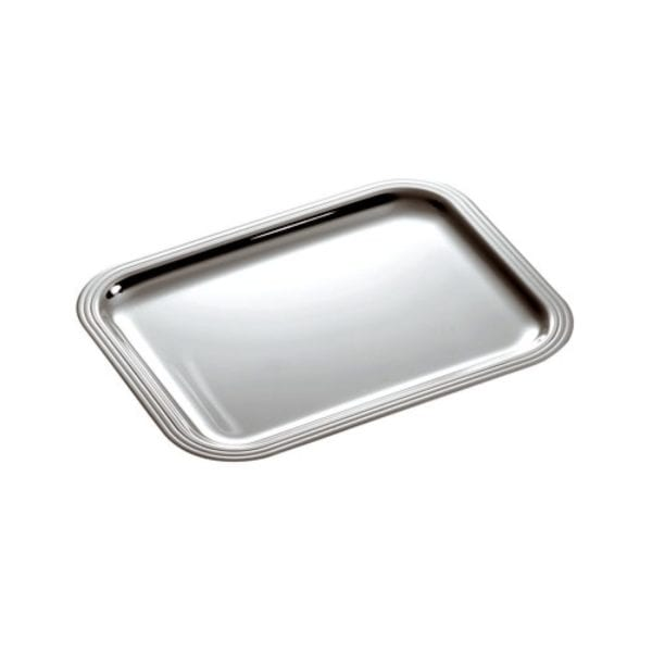 Christofle Albi Silver Plated Rectangular Tray