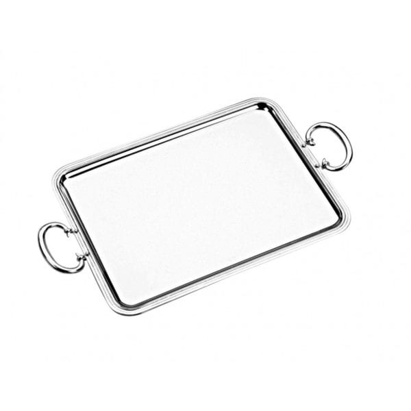 Christofle Albi Silver Plated Tray With Handles