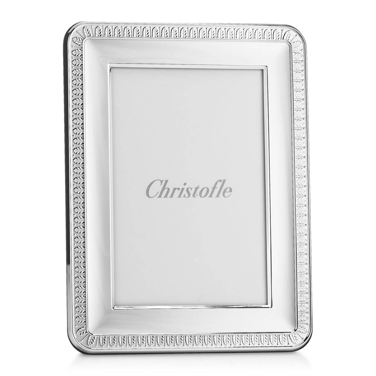 Christofle Malmaison Silver Plated Frame, 4-Inch-By-6-Inch