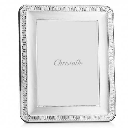 Christofle Malmaison Silver Plated Frame, 5-Inch-By-7-Inch