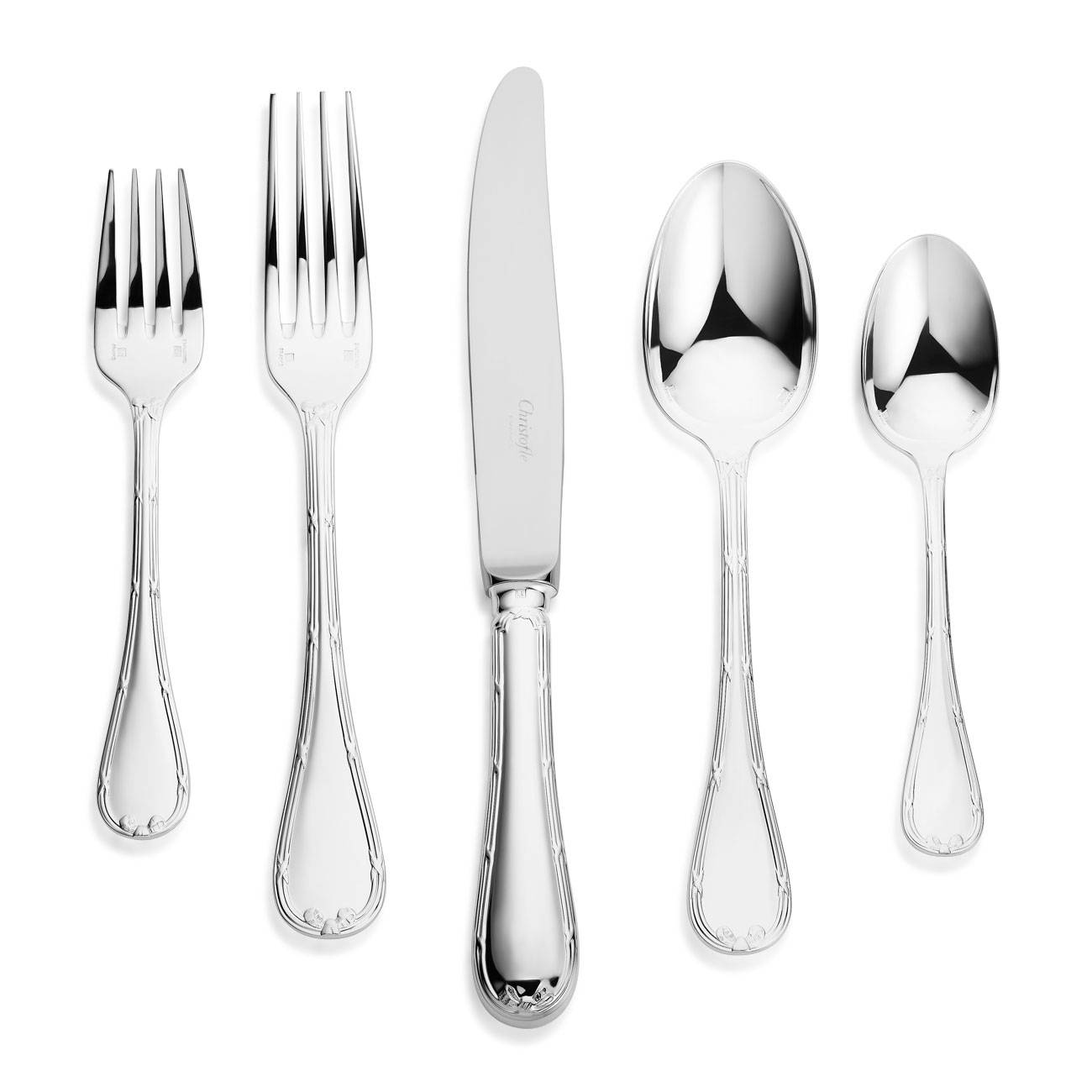 Christofle Rubans Silver Plated Collection