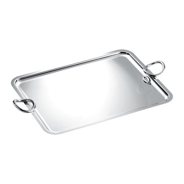 Christofle Vertigo Silver Plated Small Tray