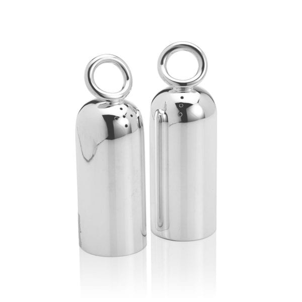 Christofle Vertigo Silver Plated Silver Plated Salt & Pepper Set