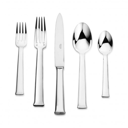 Ercuis Sequoia Silver Plated Five Piece Place Setting