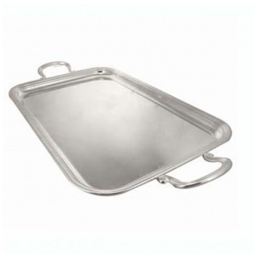 Michael C. Fina English Silver Plated Handled Tray