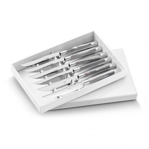 Capdeco Conty Grey Steak Knives Set of 6