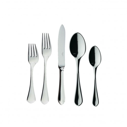 Ercuis Citelle Stainless Steel Five Piece Dinner Setting
