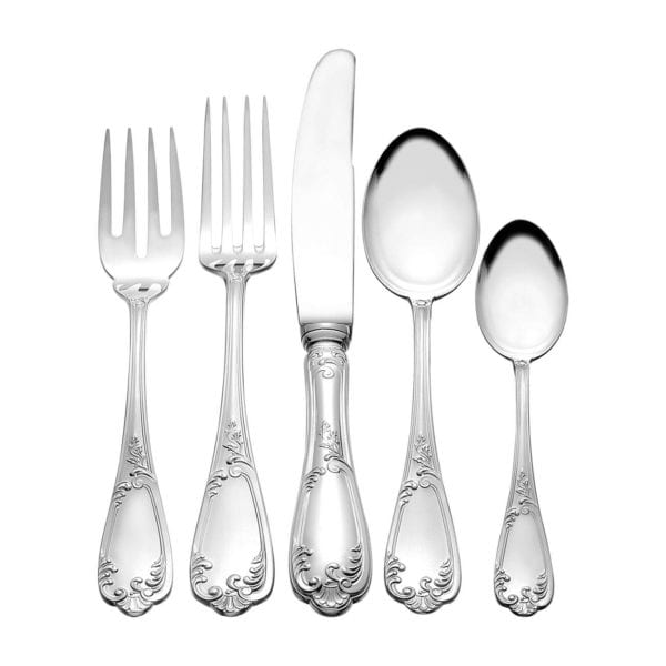 Michael C. Fina Louis XV Sterling Silver Five Piece Place Setting