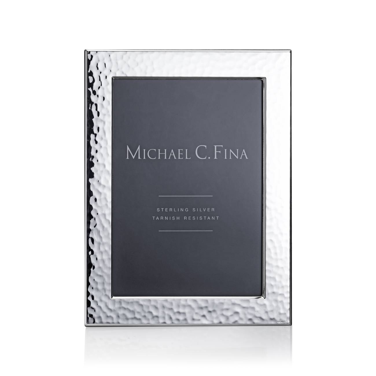 Michael C. Fina Greenwich Hammered Sterling Silver Frame 5x7 ...