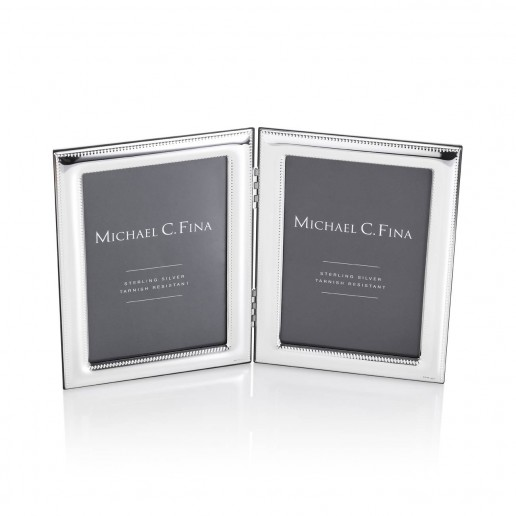 Michael C. Fina Lexington Sterling Silver Double Frame, 4x6