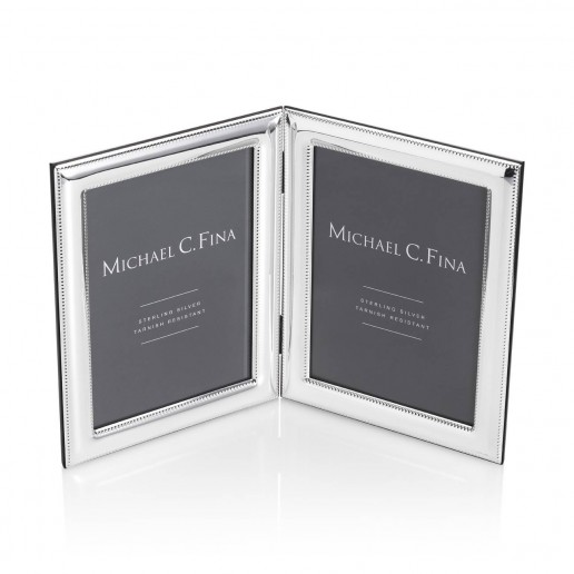 Michael C. Fina Lexington Sterling Silver Double Frame, 5x7