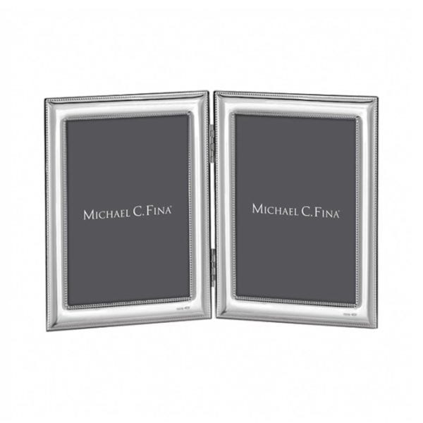 Michael C. Fina Lexington Sterling Silver Double Frame, 8x10