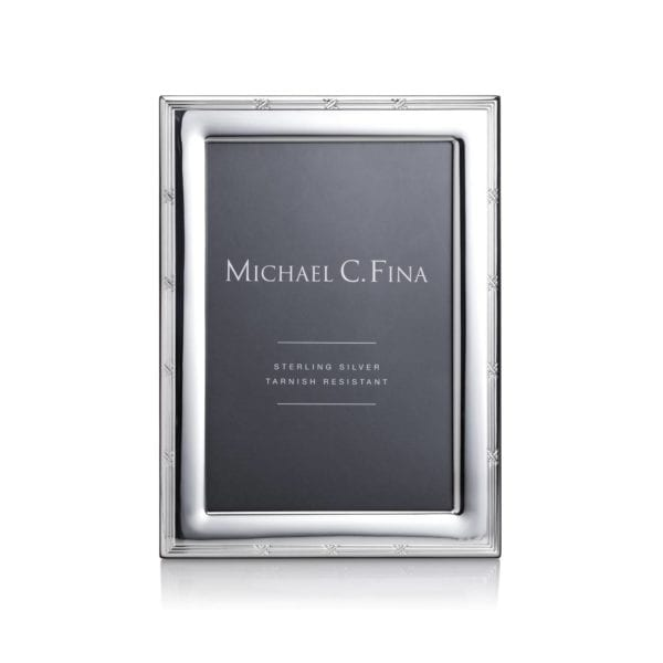 Michael C. Fina Madison Sterling Silver Frame 4x6