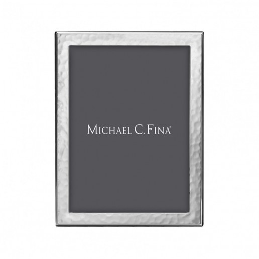Michael C. Fina Manhattan Hammered Sterling Silver Frame