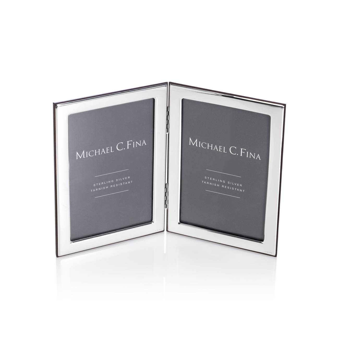 Michael C. Fina  Manhattan Sterling Silver Double Frame 4x6