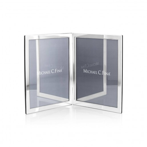 Michael C. Fina  Manhattan Sterling Silver Double Frame 8x10