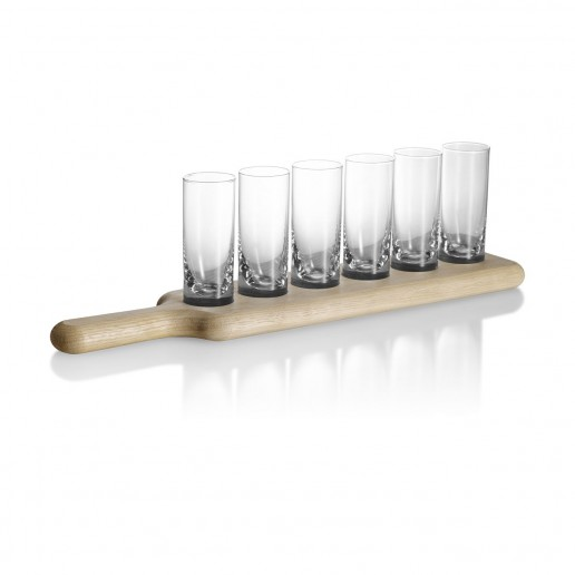 LSA International Paddle Vodka Set