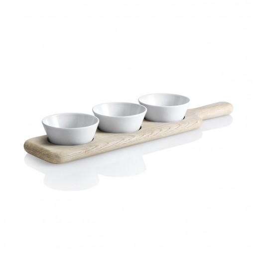 LSA International Paddle Trio Bowl Set