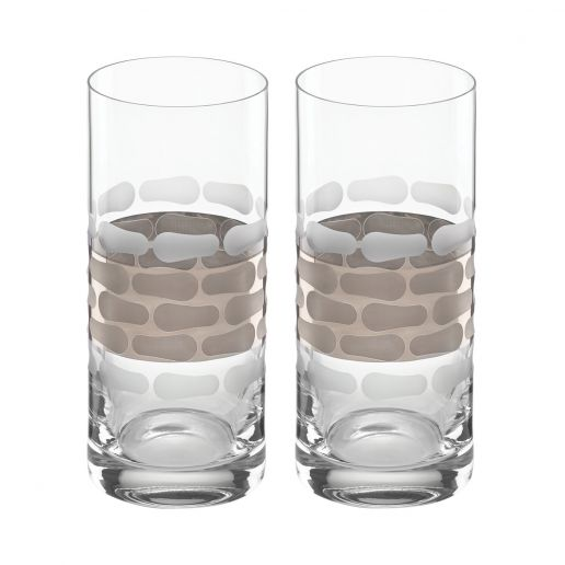 Michael Wainwright Truro Platinum Highball, Set of 2