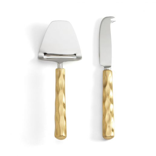 Michael Wainwright Truro Gold Cheese Shaver & Knife Set