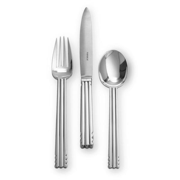 Puiforcat Nantes Silver Plated Flatware Collection